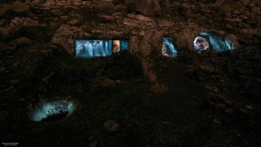 شاهدوا بيتا محفورا في الجبل نواحي أزغنغان يعود للأسلاف القدامى المنحدرين من الناظور لما قبل الإسلام