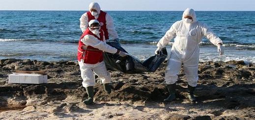 فاجعة.. العثور على جثث 7 مواطنين مغاربة من بينهم امرأة لفظها البحر
