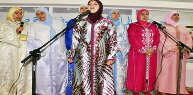 جمعية دعم المرأة والطفل في و ضعية صعبة بتنسيق مع مؤسسة الجاحظ 2 تحتفل بعيد المولد النبوي
