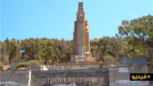 """ربورتاج.. قصة النصب التاريخي """"السهل الأصفر"""" المشيّد بقلب الريف قبل نقله إلى سبتة"""