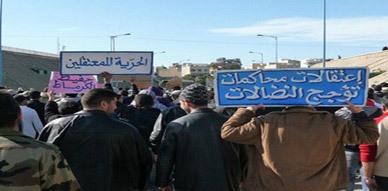 الحكومة تؤكد على عودة الهدوء والنظام الى تازة