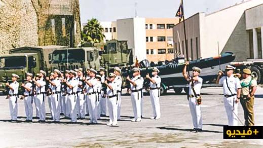 """بالفيديو.. الجيش الاسباني يحتفل بـ""""انجازاته"""" في الغزو البحري والبري للحسيمة"""