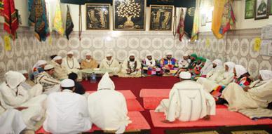 الزاوية الكركرية بالعروي تحتفل بذكرى عيد المولد النبوي الشريف