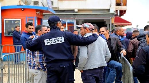 كانوا يهمون بدخول مليلية المحتلة.. أمن معبر فرخانة يعتقل تونسيين وسوريين يحملون جوزات سفر مزورة