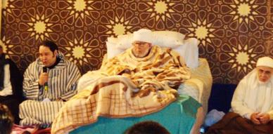 ازيد من 100 ألف مريد  يحيون ليلة عيد المولد النبوي بالزاوية البودشيشية بمداغ