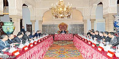 الملك محمد السادس يترأس أول مجلس للوزراء