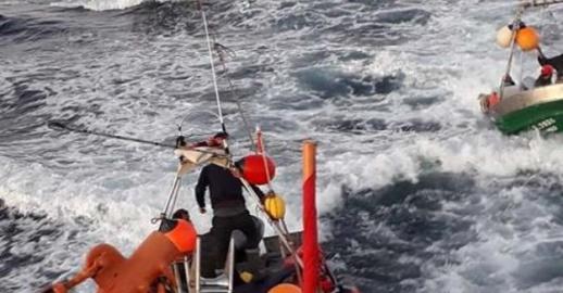 إختفاء قارب صيد تقليدي على متنه 4 بحارين من مدينة الحسيمة