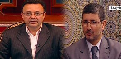 الدكتور مصطفى المرابط معد برنامج أمسية مغربية يستضيف على قناة الجزيرة الأستاذ ناصر الفنطروسي