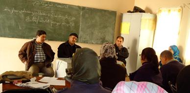 جمعية بروال للتنمية الإجتماعية الثقافية والبيئية تنظم دورة تكوينية حول محو الأمية