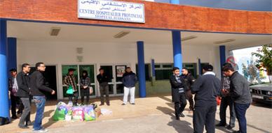 أعضاء جمعية المنار بالناظور يحتجون بعد منعهم من تنظيم زيارة تفقدية لمركز الأطفال المتخلى عنهم
