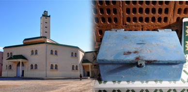 مسجد الفتح بحي عاريض يتعرض لعملية سرقة والسلطات الأمنية تفتح تحقيقا في الموضوع