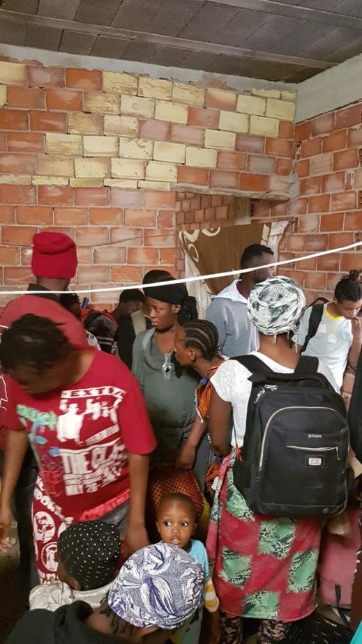 السلطة المحلية ببوعرك توقف 66 مهاجرا افريقيا في منزل بدوار الحرشة