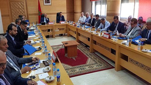 اللجنة الإقليمية للمبادرة الوطنية بعمالة الدريوش تصادق على مشاريع مهمة تهم ذوي الإحتياجات الخاصة وبنيوية