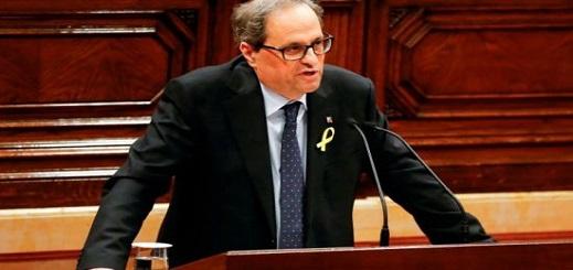 """بعد سجن 9 من زملائه.. زعيم كتالوني يدعو إلى استفتاء جديد لتقرير مصير """"الإقليم"""" بإسبانيا"""