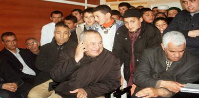 """برنامج """" ماماش تاجيد أوان يازوان أمان """" للإذاعة الأمازيغية يحط الرحال بجماعة إعزانن"""