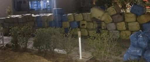 حجز شاحنة محملة بـ 13 طنا من الملابس والأحذية المهربة من مليلية