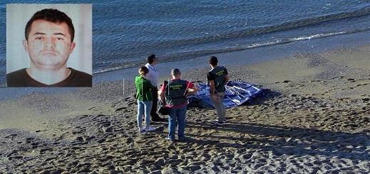 أمواج البحر تلفظ جثة مهاجر مغربي يبلغ من العمر 31 سنة
