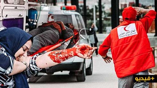 الهلال الأحمر المغربي بالناظور ينجح في تنظيم مناورة إسعافية جهوية