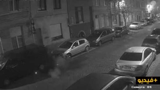 الشرطة البلجيكية تنشر فيديو لهجوم بقنبلة يدوية بأنتويرب في إطار تصفية حسابات بين عصابات المخدرات