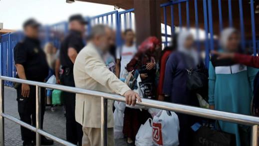 المسلمون غاضبون من العراقيل التي تواجه إمام المسجد عند دخوله الى مليلية المحتلة