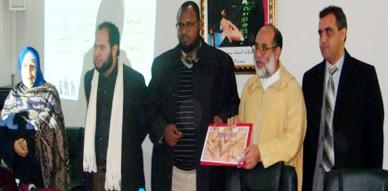 الأخصائي النفسي السعودي الدكتور عبد الله الطارقي يحاضر بدار الأم للتربية والتكوين
