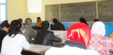 نادي كوروكو بثانوية ابن سينا بأزغنغان ينظم ورشة تكوينية لفائدة الصحافيين الشباب