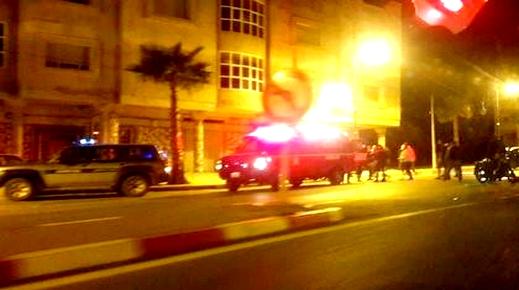 سيارة أجرة تُرسل عون سلطة كان على متن دراجة نارية إلى قسم المستعجلات بالحسيمة