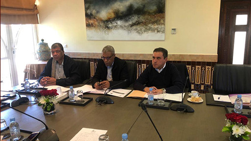الرحموني يوقع اتفاقية شراكة بين المجلس الإقليمي للناظور والجمعية المغربية لرؤساء مجالس الاقاليم والعمالات