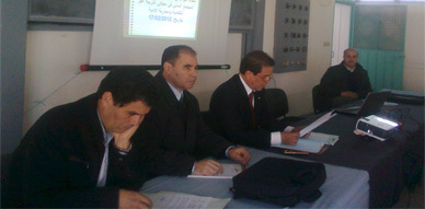 نائب وزارة التربية الوطنية بالناظور يعقد لقاءات تواصلية مع مجموعة من الشركاء