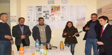مسؤولون من شركة صوناصيد في زيارة خاصة لمقر جمعية مبادرة بزايو