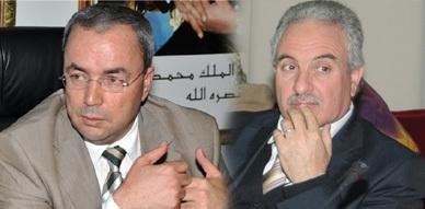 تعزية من السيد نور الدين البركاني إلى عامل الإقليم السيد العاقل بنتهامي في وفاة والده