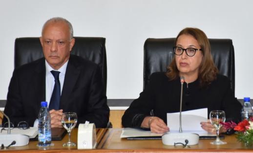 انتخاب الصحافية فاطمة الحساني رئيسة لمجلس جهة طنجة الحسيمة