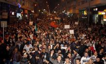 احتجاجات مغربية للمطالبة بقطع العلاقات مع سوريا