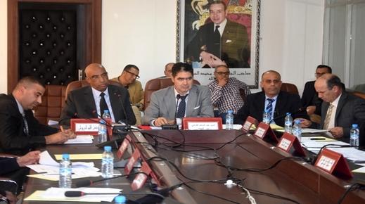 المجلس الإقليمي للدريوش يصادق على مشروع ميزانية 2020 ونقاط أخرى في دورة استثنائية