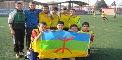 جمعية أميك أمازيغ تنظم دوريا رياضيا لفائدة الفتيان والأطفال المهاجرين ببرشلونة