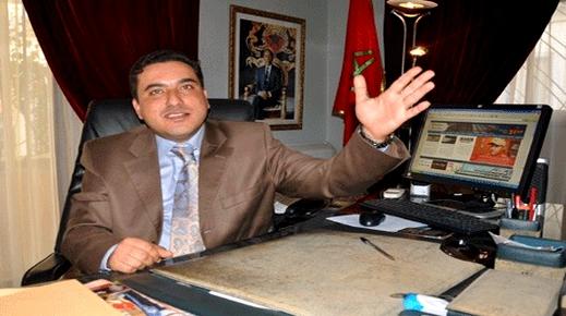 رئيس المجلس الإقليمي للناظور يندد بحرق العلم الوطني للمملكة