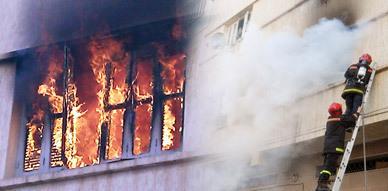 حريق بإحدى المنازل يثير الرعب لدى سكان حي الكندي بالناظور
