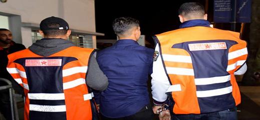 شرطة بني انصار توقف تونسيا ومغربيا متورطان في السطو المسلح