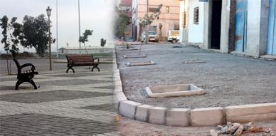 إرتياح لسير أشغال التهيئة الحضرية بسلوان والمواطنين ينتظرون المزيد