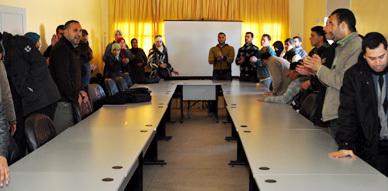 معطلو الناظور ينسفون دورة فبراير للمجلس البلدي لبني انصار