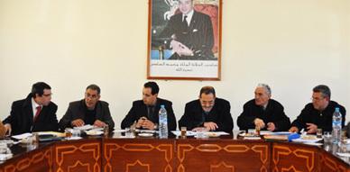 المجلس الجماعي لاولاد ستوت يصادق على الحساب الاداري لسنة 2011