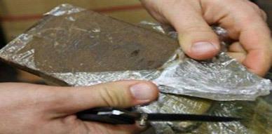 حجز 35 كلغ من مخدرات الشيرا بسبتة