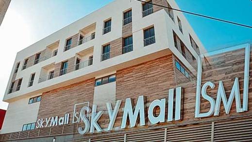 ادارة سكاي مول تبدأ بتسويق محلات تجارية بالقرب من سوق اولاد ميمون وسط الناظور