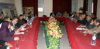 المجلس البلدي بالعروي يعقد دورة فبراير العادية ويصادق على الحساب الاداري