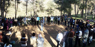 جمعية الفتوة للتربية والثقافة والتنمية تنظم رحلة ثقافية وترفيهية لمنتزه تافوغالت
