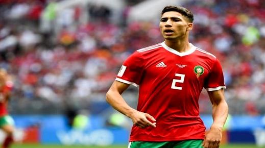 الدولي المغربي أشرف حكيمي مرشح لجائزة أفضل لاعب في الجولة الـ4 من دوري الأبطال