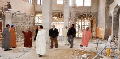 زيارات لتفقد أوراش بناء مساجد وكتاتيب قرآنية بمناسبة اليوم الوطني للمساجد