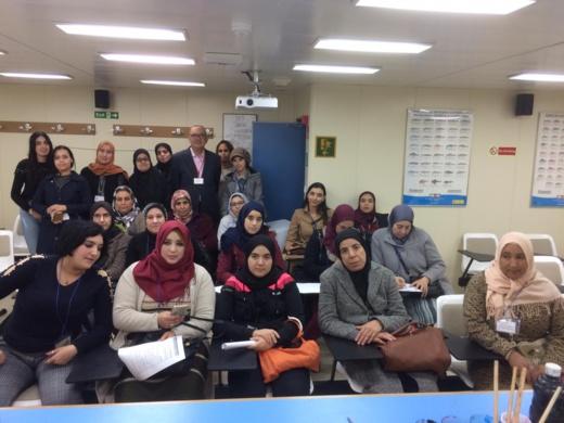 الإطار البنكي رشيد صبار يؤطر ورشة تكوينية للنساء الحاملات لمشاريع صغرى