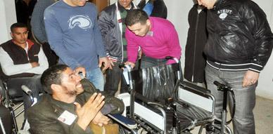أمسية دينية تتوج بتوزيع الكراسي المتحركة على ذوي الإحتياجات الخاصة بالناظور