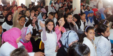 الثانوية الاعدادية تاويمة تنظم أمسية دينية